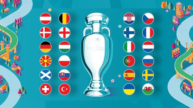 Giải Euro đầu tiên có 24 đội tham dự