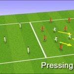 Pressing trong bóng đá là gì? Những ưu điểm và hạn chế của lối chơi này.