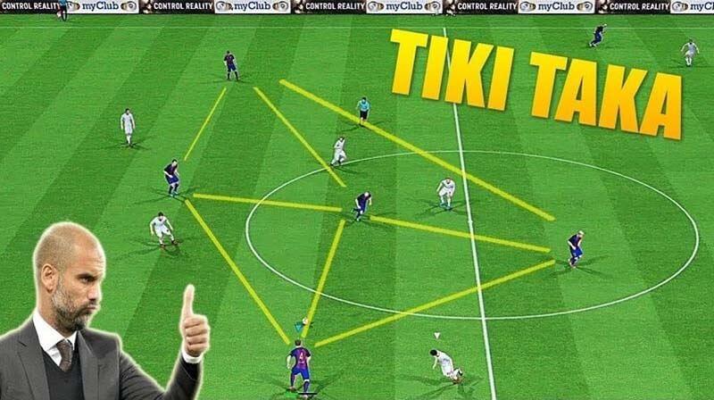 Tiki taka là chiến thuật gì?