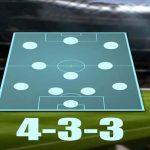 Tìm hiểu chi tiết về đội hình 4-3-3 trong bóng đá hiện nay