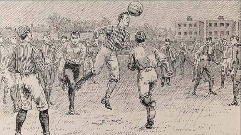 Lịch sử phát triển của bóng đá